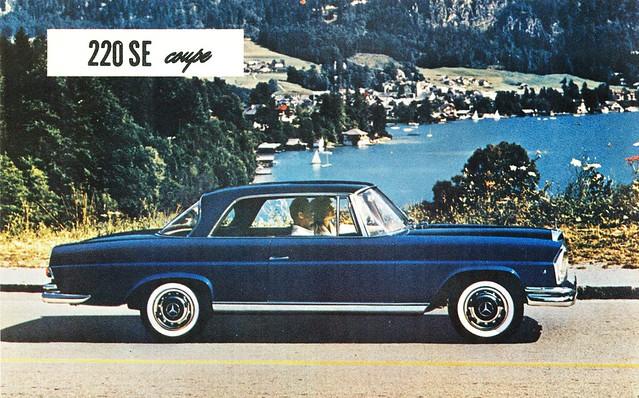 mercedes benz 220 se coupe flickr photo sharing. Black Bedroom Furniture Sets. Home Design Ideas