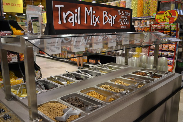 Trail mix bar flickr photo sharing for Food bar wegmans pittsford