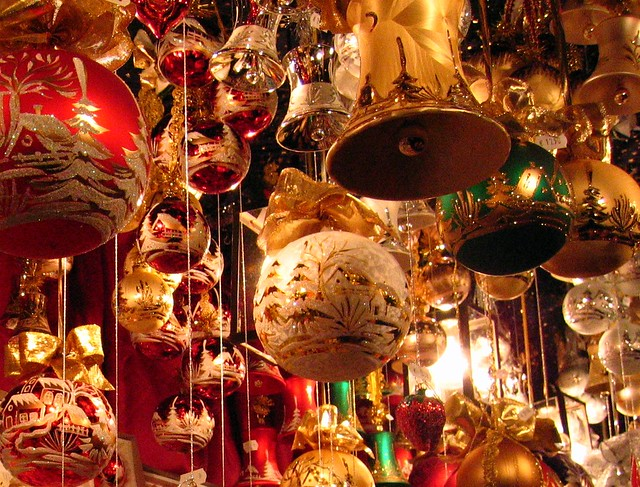 Christmas Baubles Germany : Photo