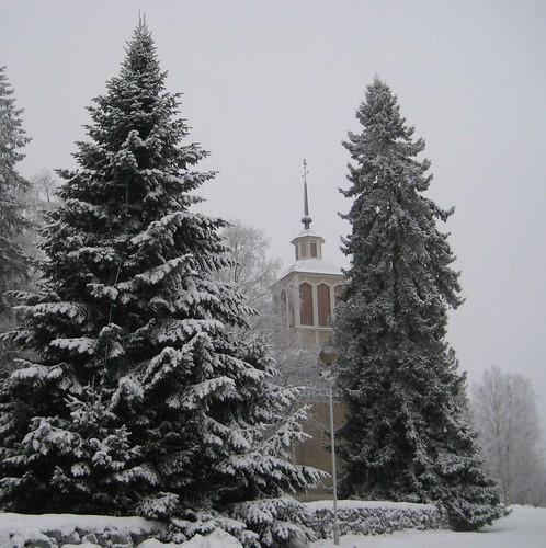 Kustaa Aadolfin kirkko, Iisalmi by Anna Amnell
