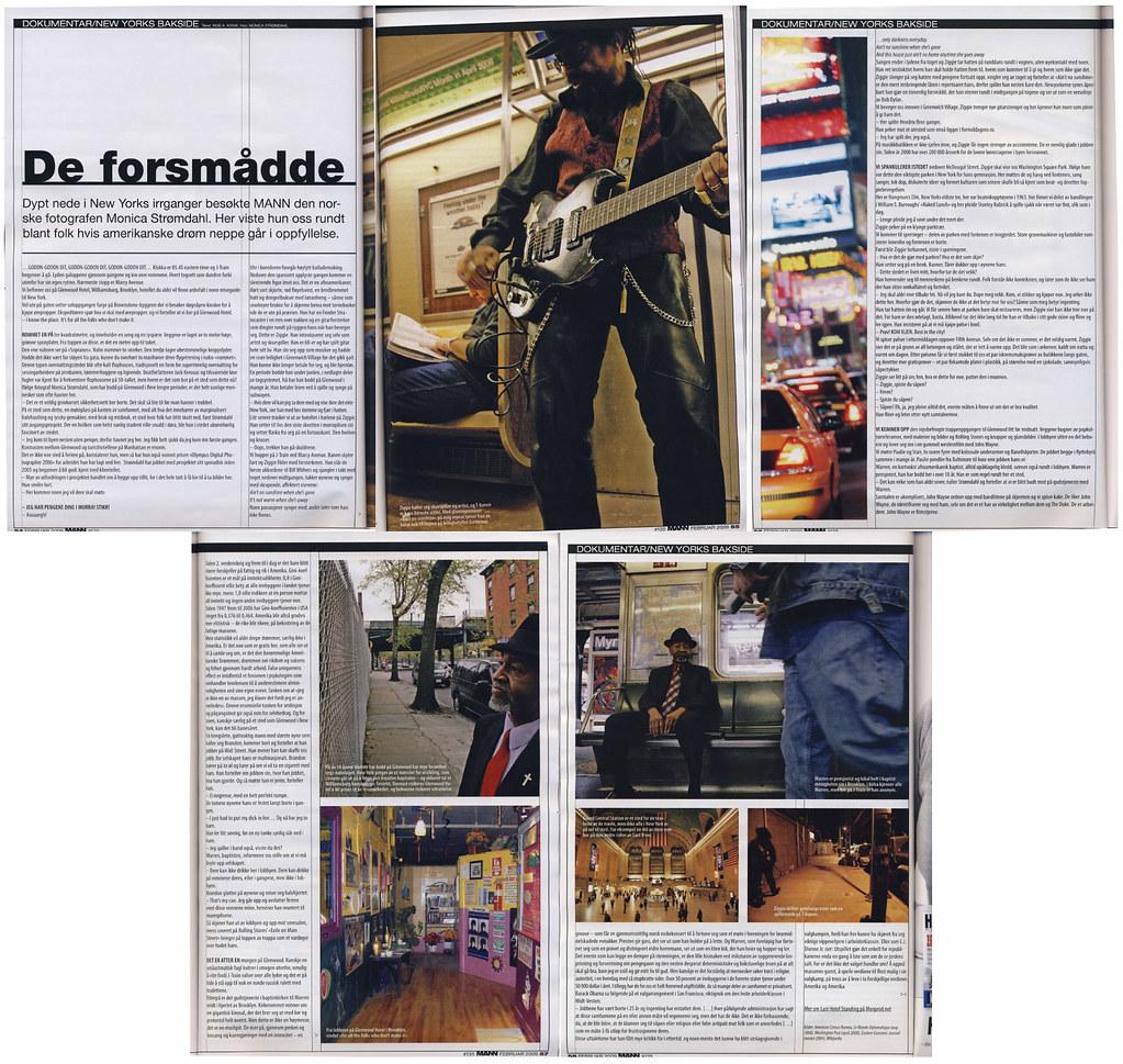 De forsmådde - dokumentar fra New Yorks bakside, MANN feb 2009