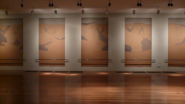 2023 / piazzoni mural room, deyoung museum, sf