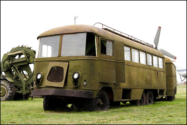 Unknown staff bus on ZIL-157 chassis