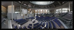 Plenarsaal des Deutschen Bundestags (240° Panorama) by sualk61