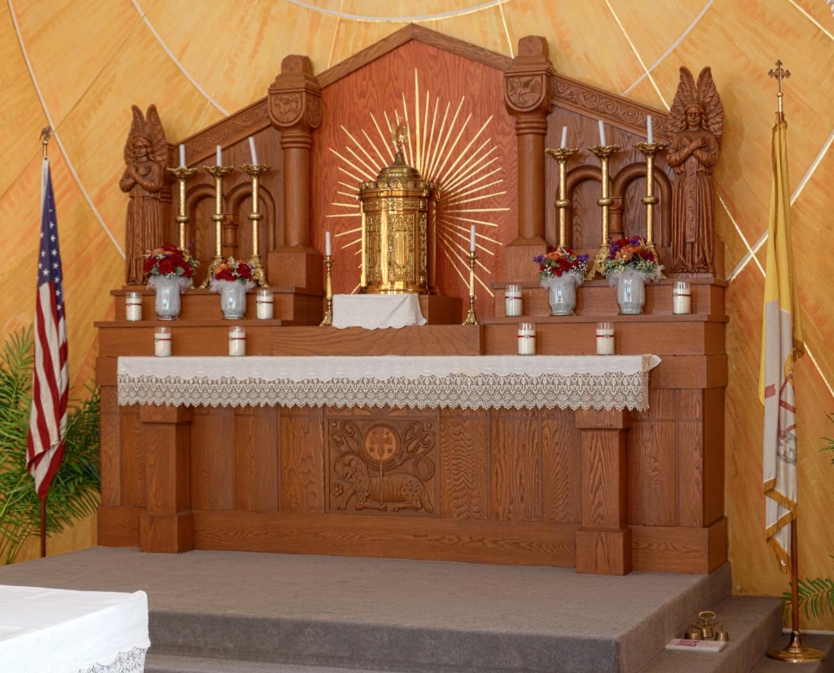 Saint Mary's Roman Catholic Church, in Fieldon, Illinois ...