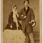 Ludwig II. King Of Bavaria With His Fiancée Sophie Charlotte Duchess In Bavaria