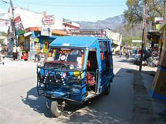Jitney bus in Rishikesh