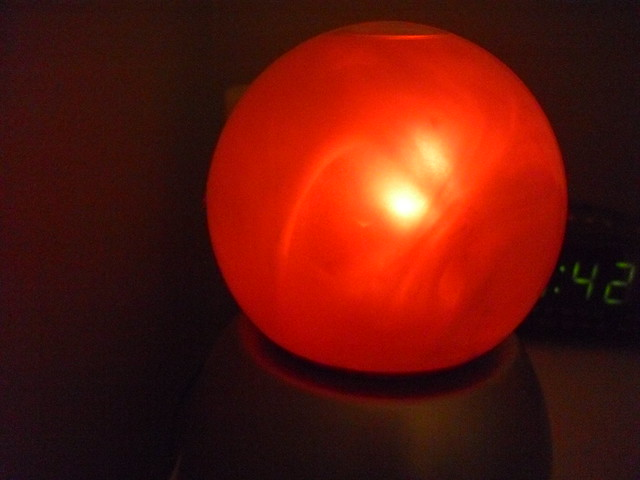 Glowing Crystal Ball Light Flickr Photo Sharing