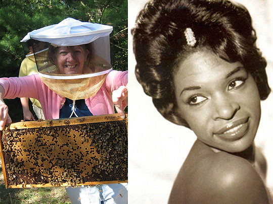 Left: Bee Native; right: The Legendary Maxine Brown