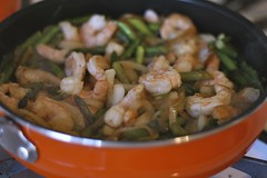 rocco's shrimp and asparagus