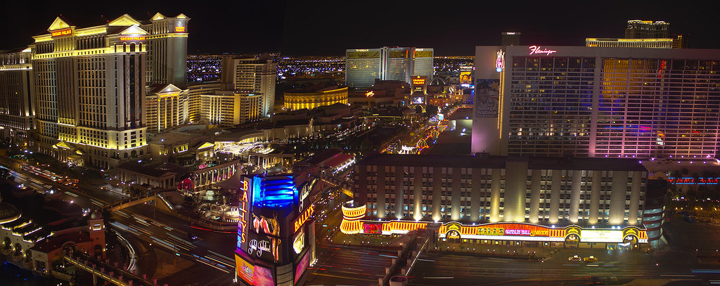 View from Ballys, Las Vegas, Nevada  April 2011