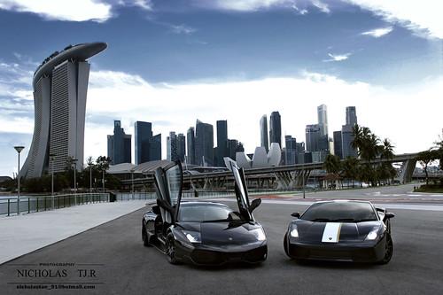 Lamborghini Murciélago LP670-4 SuperVeloce + Gallardo