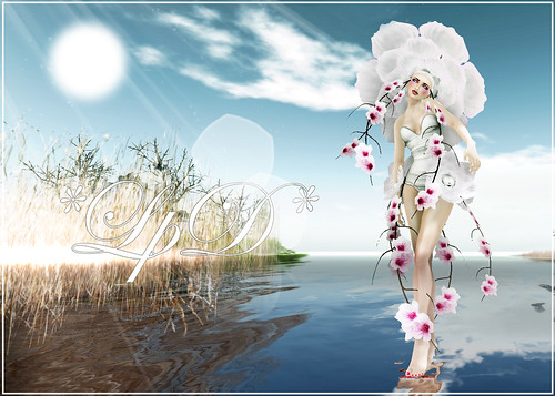 Futura artistic outfit for Second Life Birthday 8!