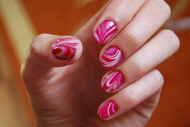 Water Marble Nail Art  Nail it to Yourself