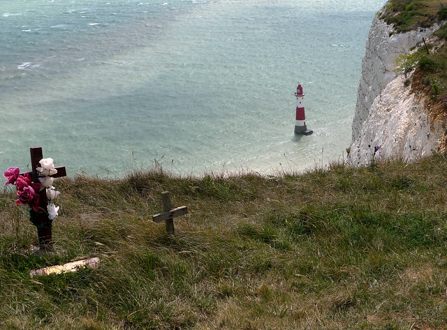beautiful and sad beachy head