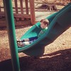 View While Nursing for March 9, 2014 - My Older Son Sliding, Locust Shade Park, Triangle, Virginia  http://viewswhilenursing.tumblr.com