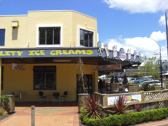 Lady Jane's Ice Cream, Rotorua