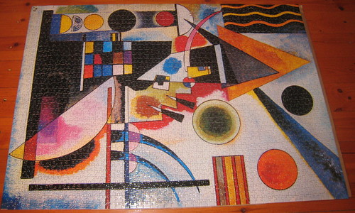 Kandinsky balancement puzzle log for Puzzle kandinsky