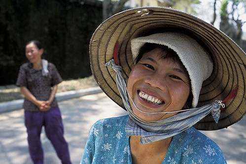 Big Smile in Hue City-Vietnam