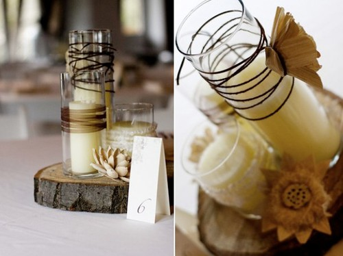 rusticweddingcenterpieces