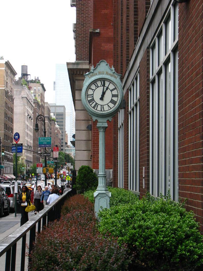 Lenox Hill Hospital Clock - Redux   I already took this phot