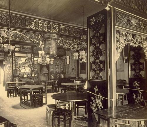 Empty parlour for Asian cuisine san francisco