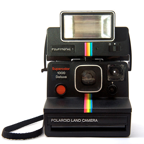 polaroid supercolor 1000 deluxe camera the free camera encyclopedia. Black Bedroom Furniture Sets. Home Design Ideas