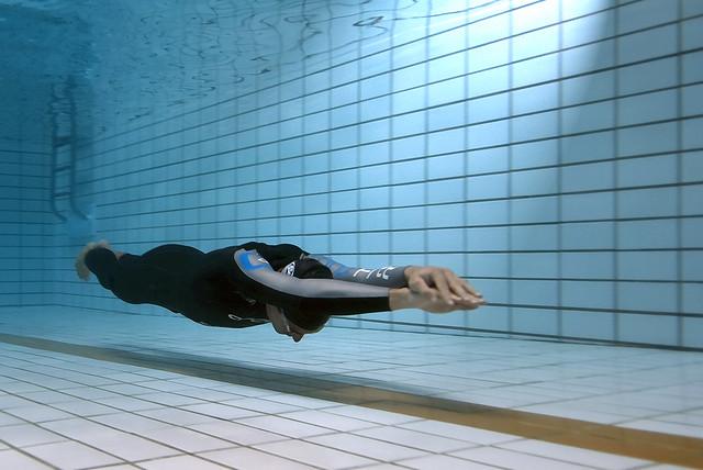 Freediving Competition: William Trubridge Underwater Glide