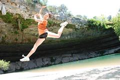 Stephanie jumps!
