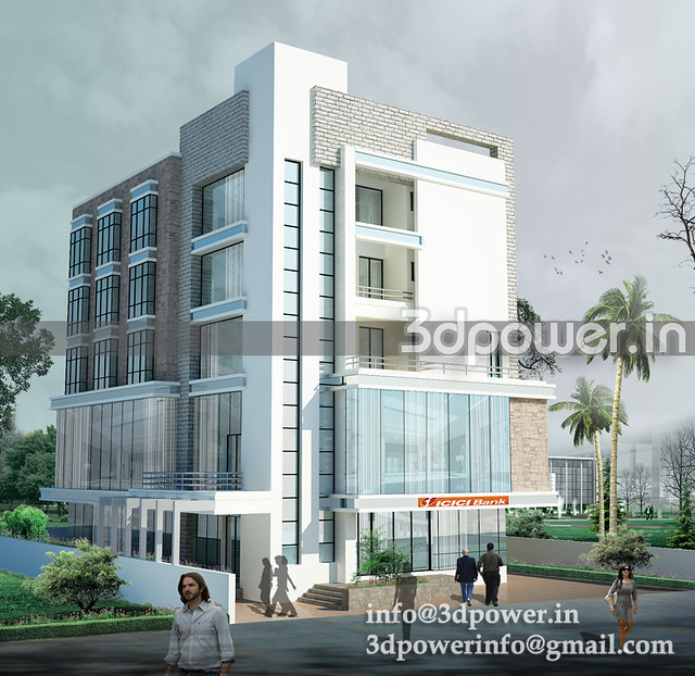 3d office building3_www.3dpower.in