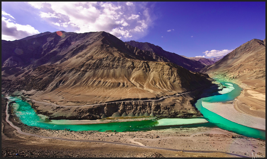 Zanskar meets the Indus