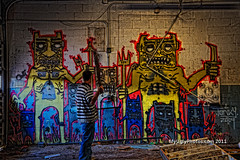 Eight On One Graffiti Urbex