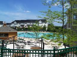 Community pool at Potomac Station Leesburg VA