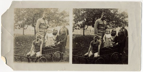 Austro-Hungarian Officer  And His Children (2)