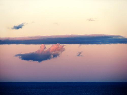ocean sunset sea sky nature dusk tasmania 3sis handinthesky cloudfingers cloudfingerscarryingaplatterfromheaven