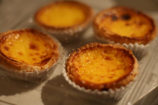 Portuguese Egg Custard Tarts   Flickr - Photo Sharing!
