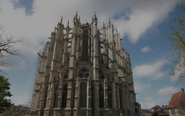 Beauvais cathedral chevet flickr photo sharing - Chevet architectuur ...