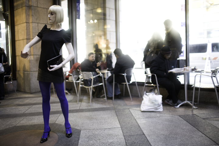 Mannequins in Midtown