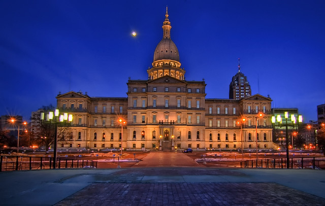 Lansing Michigan Capital HDR