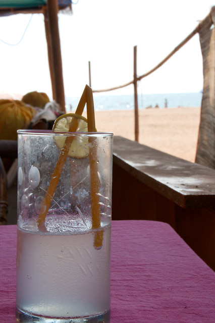 Drink on the beach