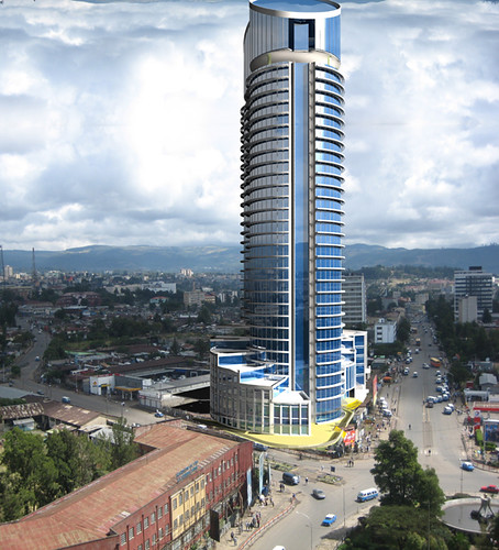 Addis Ababa Ethiopia  city photos : Future Huda tower Addis Ababa Mexico Square