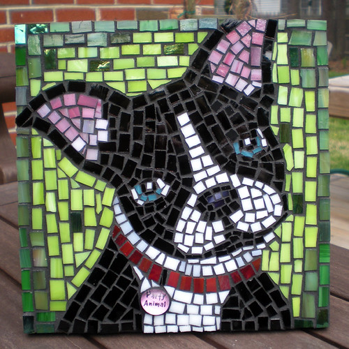 Party Animal Mosaic -grouted | Flickr - Photo Sharing!