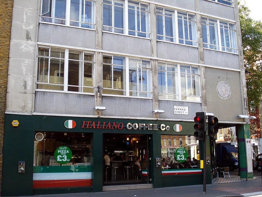 Italiano Coffee Company, Goodge Street, London W1