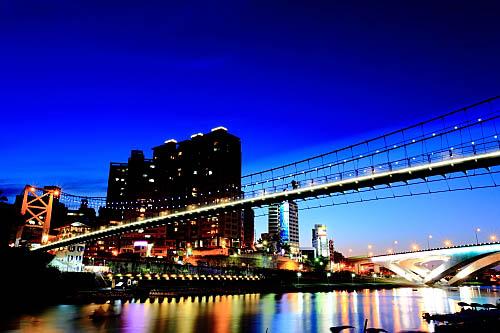 187I碧潭吊橋-夜景