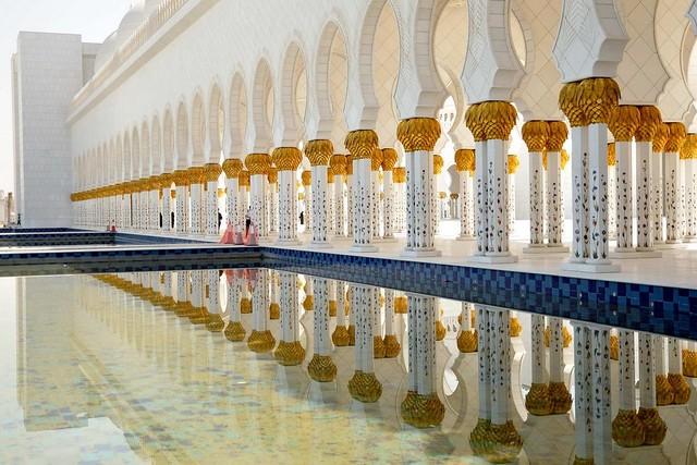 La espectacular Mezquita Sheikh Zayed en Abu Dabi 3524524091_d1b77ab662_z