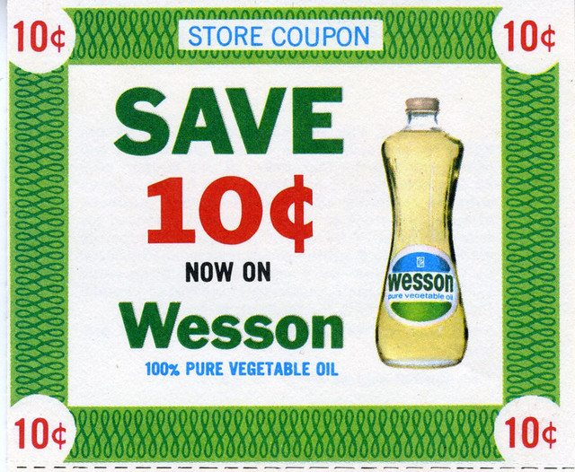 Wesson vegetable oil coupon 2018