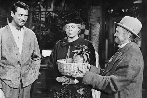 Cary Grant, Ethel Barrymore & Barry Fitzgerald in None But the Lonely Heart