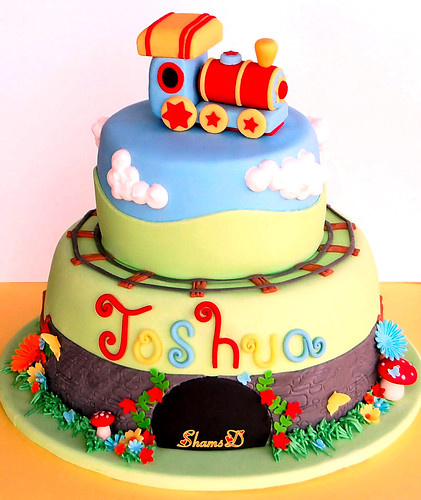 Train Cake......