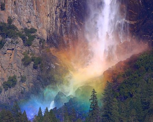 IMG_1811 Rainbow by Bridalveil Falls, Yosemite National Park