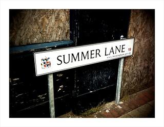 Street Signs XXXI
